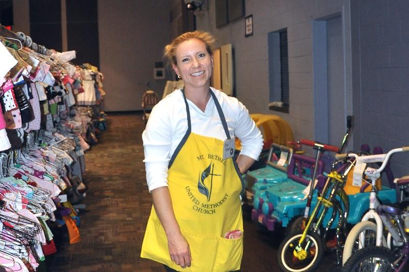 Happy Volunteer Erika Schmit