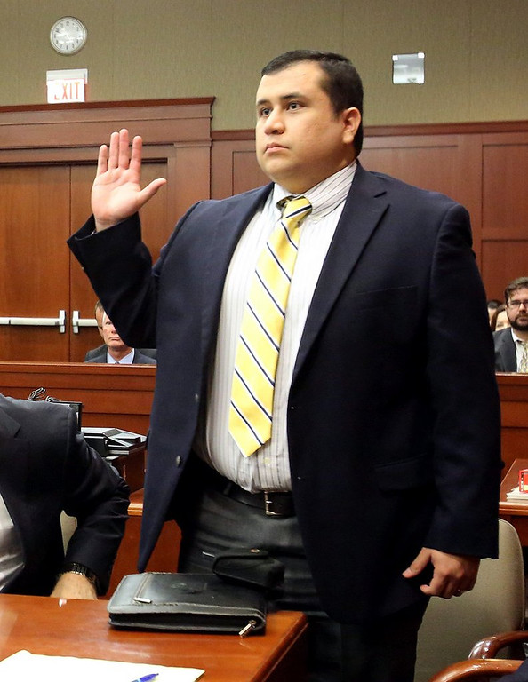 ". <p><b><a href=\'http://www.cnn.com/2013/07/13/justice/zimmerman-trial\' target=""_blank\""> Wannabe cop George Zimmerman got some great news when a Florida jury decided ... </a></b> <p> <b>A. He was not guilty of murdering Trayvon Martin </b> <p><b> B. He acted in self defense </b> <p> <b>C. He could polish off their leftover doughnuts </b> <p> --------------------------------------------    (AP Photo/Orlando Sentinel, Joe Burbank, Pool)"