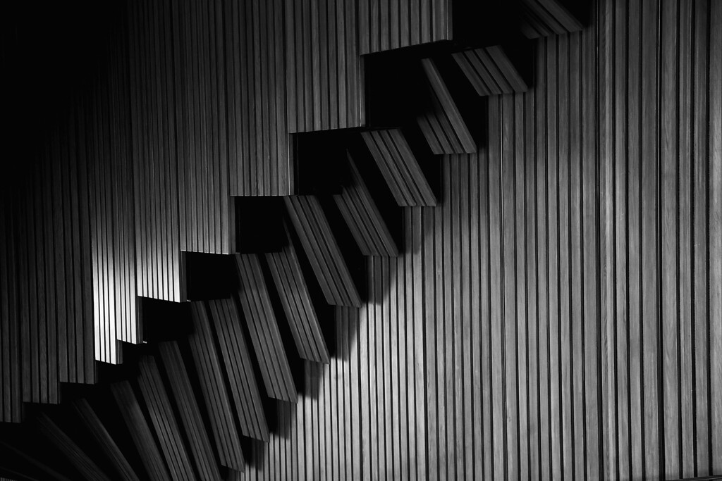 . Detail of plain brush box timber used on the walls of the interior and exterior of the concert hall at the Sydney Opera House on September 20, 2013 in Sydney, Australia. Designed by Danish architect, Jorn Utzon, the famous landmark is the busiest performance centre in the world with over 1500 performances per year and serves as home to Opera Australia, The Australian Ballet, the Sydney Theatre Company and the Sydney Symphony Orchestra.   (Photo by Cameron Spencer/Getty Images)