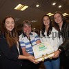 Sr Julie McGoldrick is pictured with Caoimhe Byrne, Emily Grant and Anna McNulty who achieived 4 A*/A GRades . R1634015