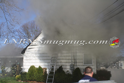 North Babylon Fire Co. Working Fire 231 Essex St. 12-1-11