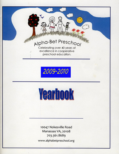 Alphabet Yearbook