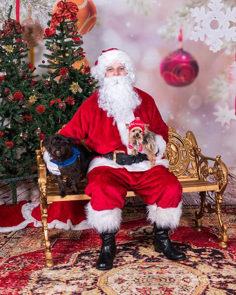 Pet Photos with Santa 12/8/2019