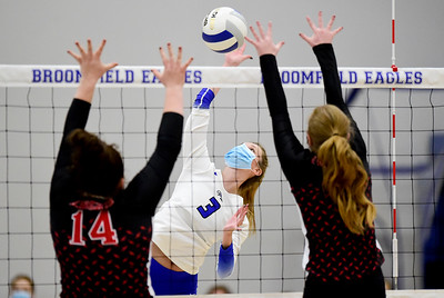 Photos: Broomfield Vs. Fairview Volleyball 3/25/21