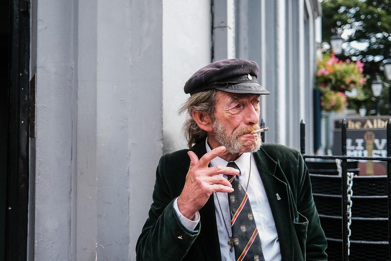 Portraits on the Street-(Strangers)