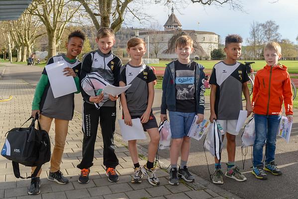 Siegerehrung Schaffhauser Jugendlaufcup