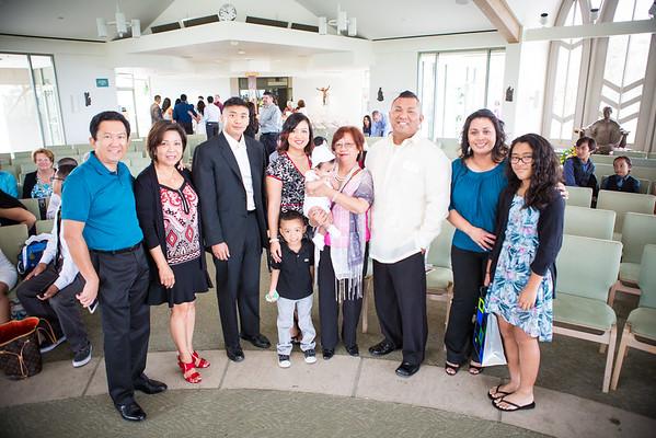Mavrick's Baptism 10/17/15
