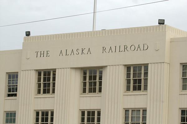 Alaska Trip - Train & Glaciers - 7/18/14