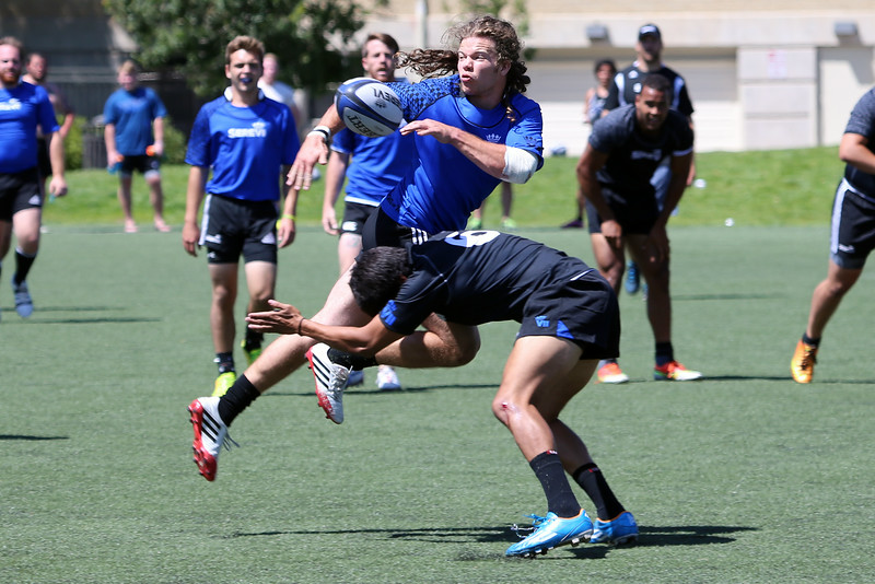 2014 Serevi Rugby Collegiate Residence Camp Games on Friday  Glendale Colorado