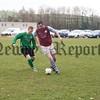 Paddy kavanagh (Villa Rovers) and Stefan Knox (Kilkeel).