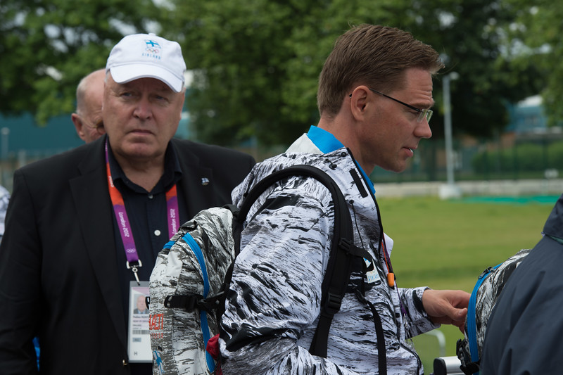 Jyrki Katainen__04.08.2012_London Olympics_Photographer: Christian Valtanen_London_Olympics_Jyrki Katainen_04.08.2012__ND45111__Photo-ChristianValtanen