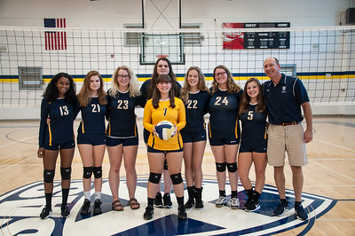 Varsity & JV Volleyball 2018