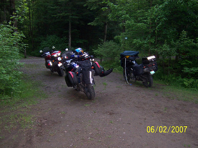 V-Strom ride 06-02-2007 to northwest Vermont