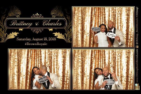 Brittney & Charles #BrownRoyale