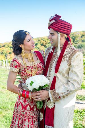 Vishal and Cheryl Niagara