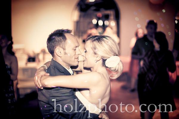 Beth & Mike Creative Wedding Photos