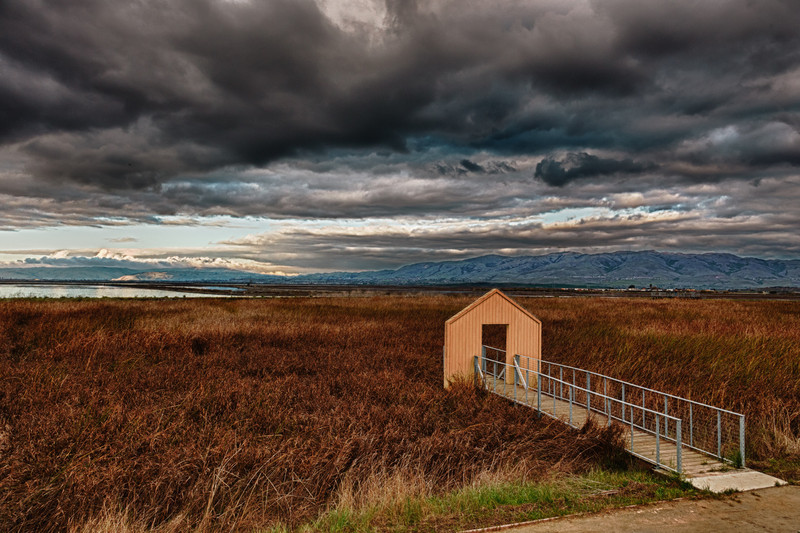 Clearing Storm over Alviso