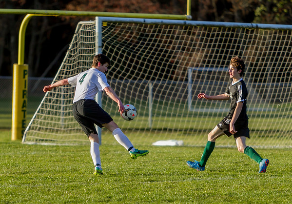 Set two: Vashon Island High School Boys Varsity Soccer v Klahowya