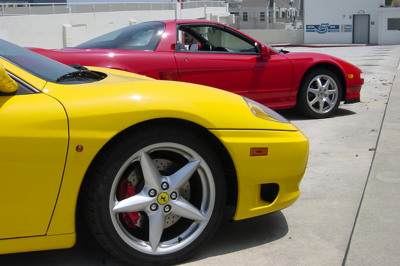 I do not think I could own a yellow Ferrari
