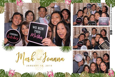 Mark & Joanna's Wedding (LED Dazzle Booth)