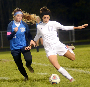 JFK at Grand Valley girls soccer district October 22, 2018