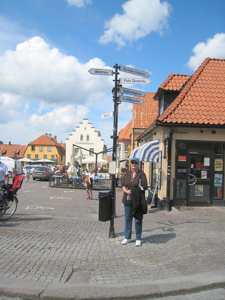 Square in Visby