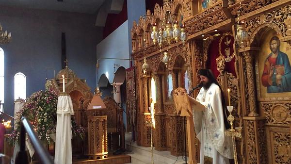 09.04.16 The Gospel Reading Matthew 18.23-35, Sermon by Father Agathangelus & Father Nikodemos