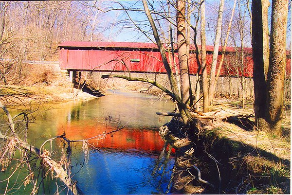 Pine Bluff Covered Bridge