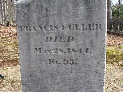 Francis Fuller Grave