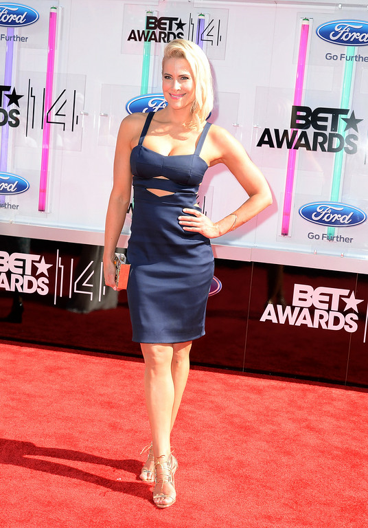 . Actress Brittany Daniel attends the BET AWARDS \'14 at Nokia Theatre L.A. LIVE on June 29, 2014 in Los Angeles, California.  (Photo by Earl Gibson III/Getty Images for BET)