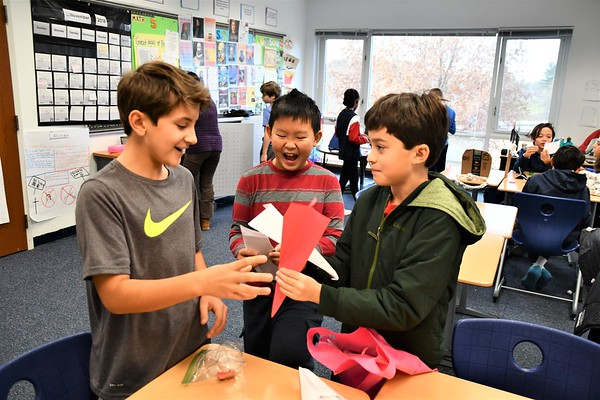 Sixth Graders Explore the Art of the Deal