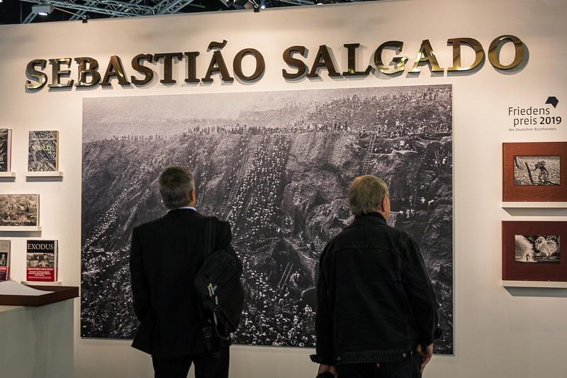 Sebastião Salgado auf der Frankfurter Buchmesse 2019 - Janetts Meinung