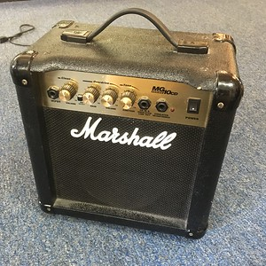 Marshall Practice Amp, MG10CD, Used