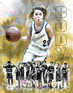 2020 Geneva Vikings Basketball Prints