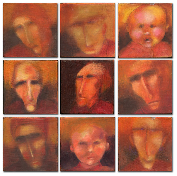 Red faces (some are sold)