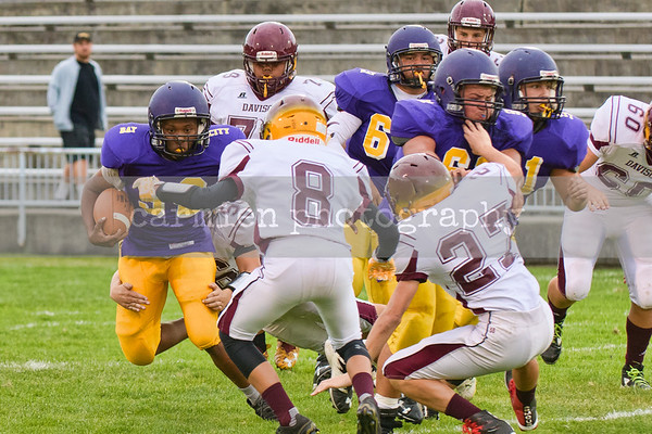 Bay City Central Freshmen vs. Davison
