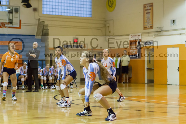 Bishop Moore Hornets @ Boone Braves Girls Varsity Volleyball - 2013