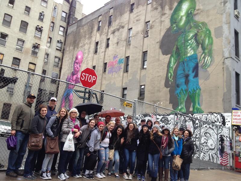 Graffitti tour in Greenwich Village/Soho