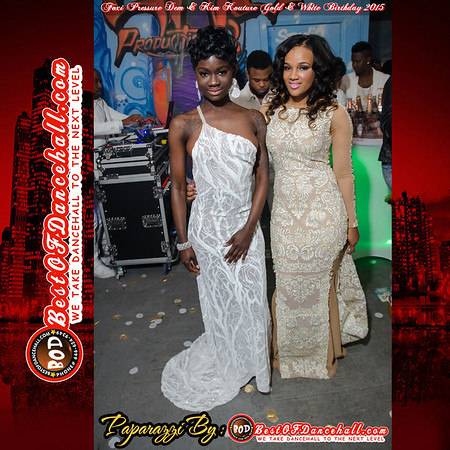 5-2-2015-NEW JERSEY-Foxi Pressure Dem & Kim Kouture Gold & White Birthday Celebration 2015