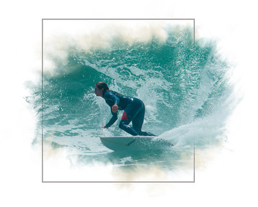Surfer Lady 8635