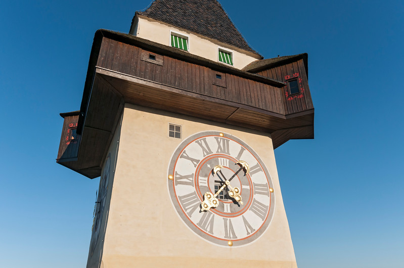 Uhrturm Clock Tower, Graz