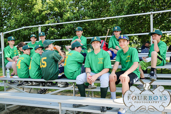 St. Agnes Baseball - Last Game