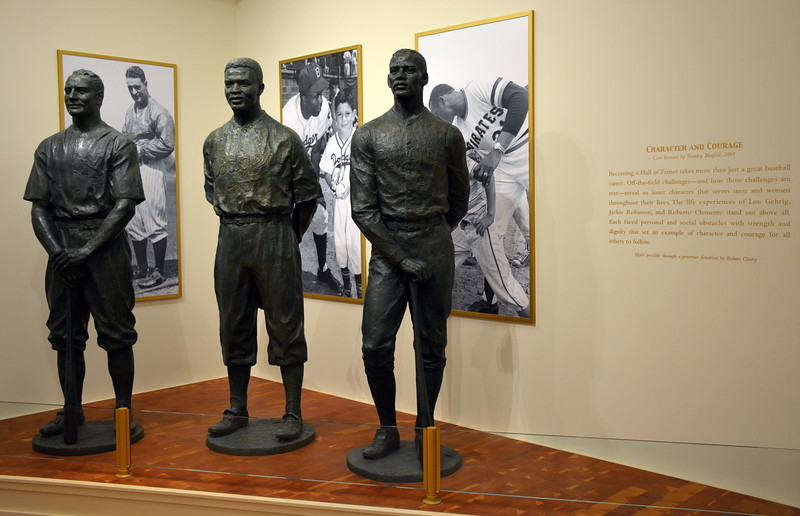 Character and Courage Exhibit at the National Baseball Hall of Fame & Museum