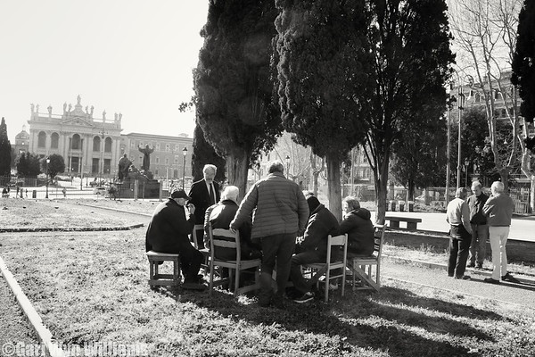 Card Players, Rome