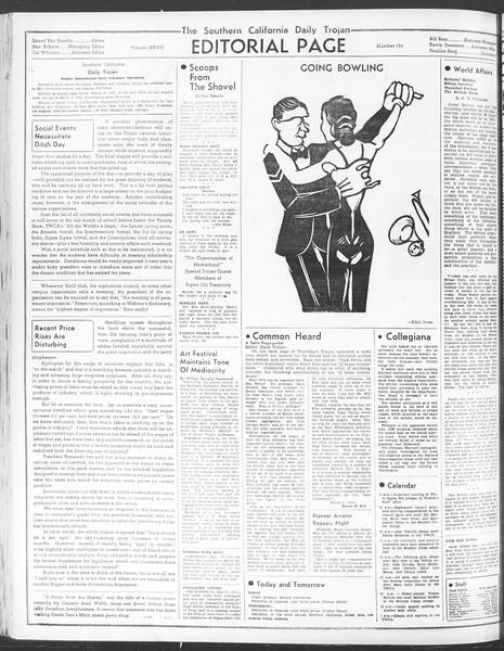 Daily Trojan, Vol. 28, No. 134, May 11, 1937