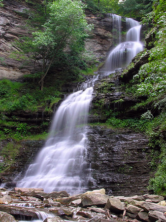 Cathedral Falls, Gauley Bridge, WV 2006 July