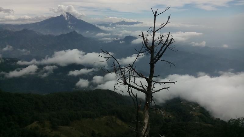 Sicht Richtung Guatemala: Vulkan Tachumulco