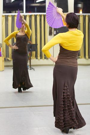 12-2-13 Flamenco Dancing Rehearsal (4)