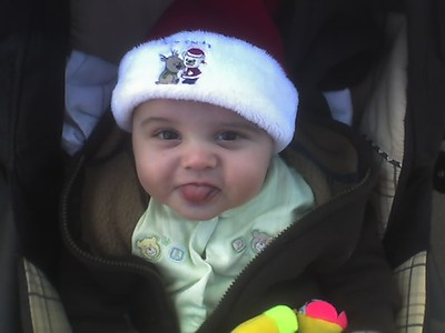 Oliver's 1st Christmas - 2007