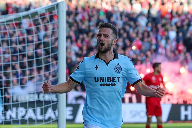 10-11-2019: Voetbal: FC Antwerp v Club Brugge: Antwerpen